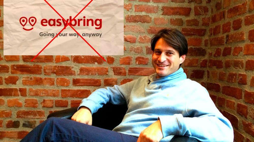 IKKE EASY: Easybring bytter navn til Nimber. Dermed avslutter de en meningsløs navnekrangel sier selskapets administrerende direktør Ari Kestin (bildet).