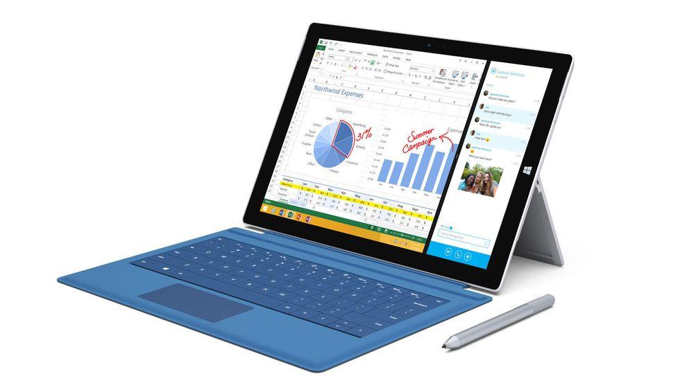 Etterspørselen etter 2-i-1-enheter som Microsoft Surface Pro 3 øker i det vesteuropeiske bedriftsmarkedet.