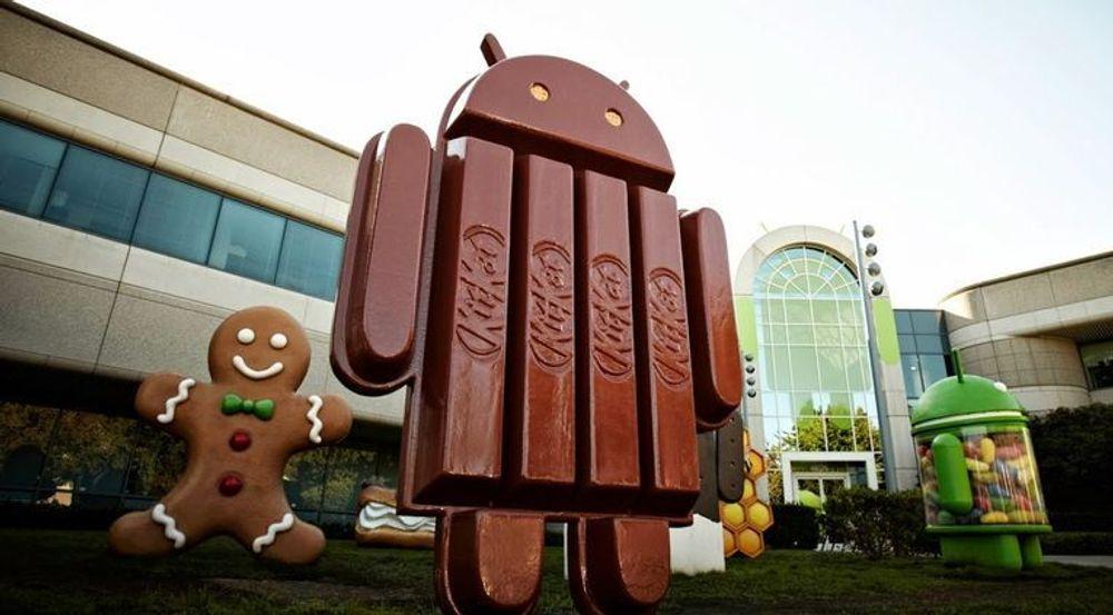 Android-enheter som har KitKat-utgaven installert, er ikke berørt av den omtalte sårbarheten. Verre er det med eldre utgaver.