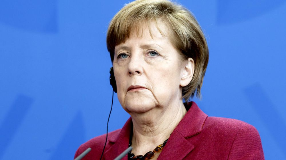 VRAKER: Forbundskansler Angela Merkel og den tyske regjeringen har kansellert en kontrakt med amerikanske Verizon.