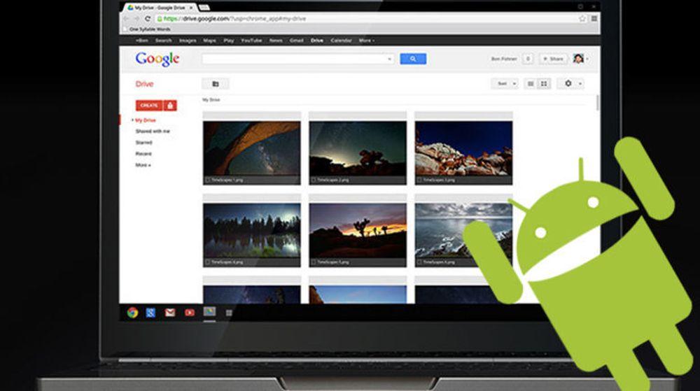 Google bekreftet i går at Chrome OS skal få en støtte for å kjøre Android-apper.