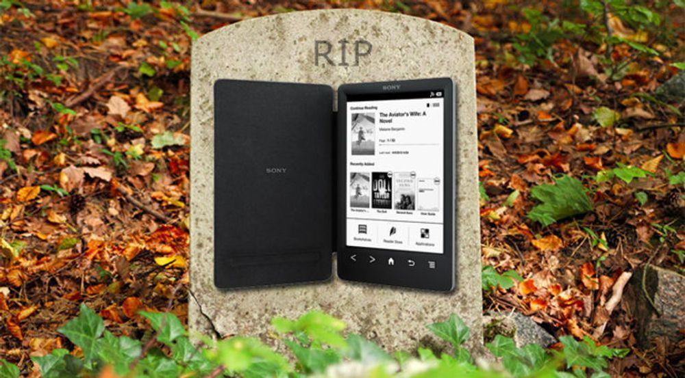 GIR OPP: Avbildede PRS-T3 ble den siste e-bokleseren fra Sony.