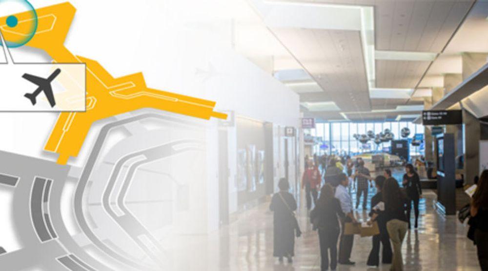 Posisjonstjenester skal hjelpe synshemmede å finne frem på store flyplasser.
