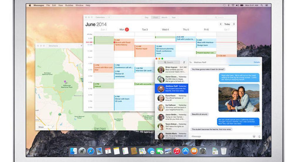 Nå kan alle laste ned betaversjon av Mac OS X Yosemite, ihvertfall inntil minst en million har gjort det.