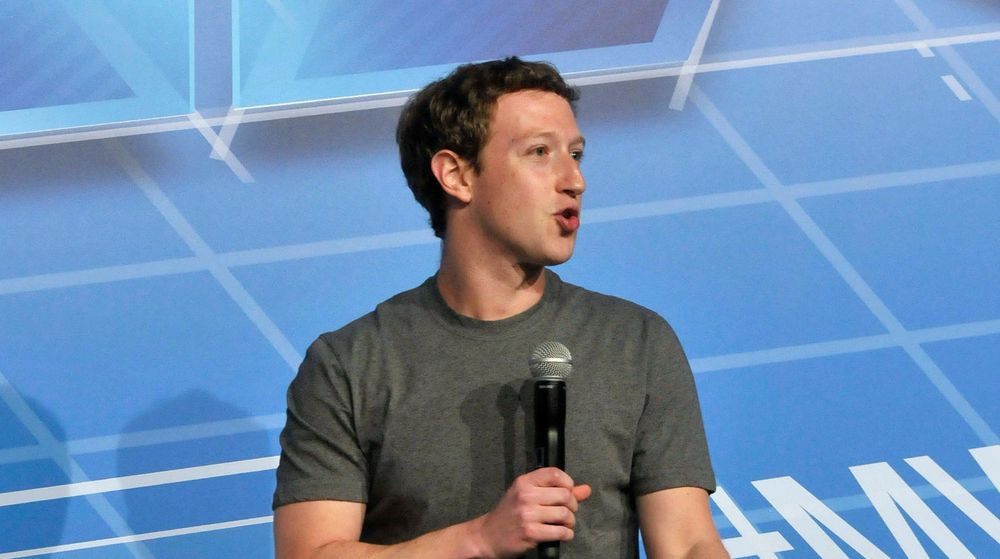 SEDDELPRESSE: Mark Zuckerberg under et besøk på Mobile World Congress i Barcelona tidligere i år.