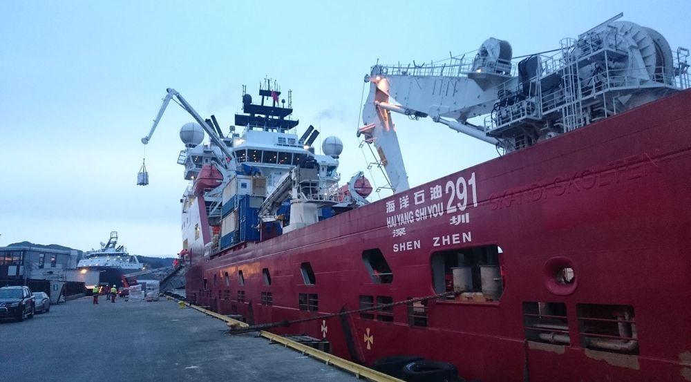 Den kinesiske oljegiganten CNOOC valgte lille Unisea for å ta unna papirmølla i sin satsing på avanserte subsea serviceskip.