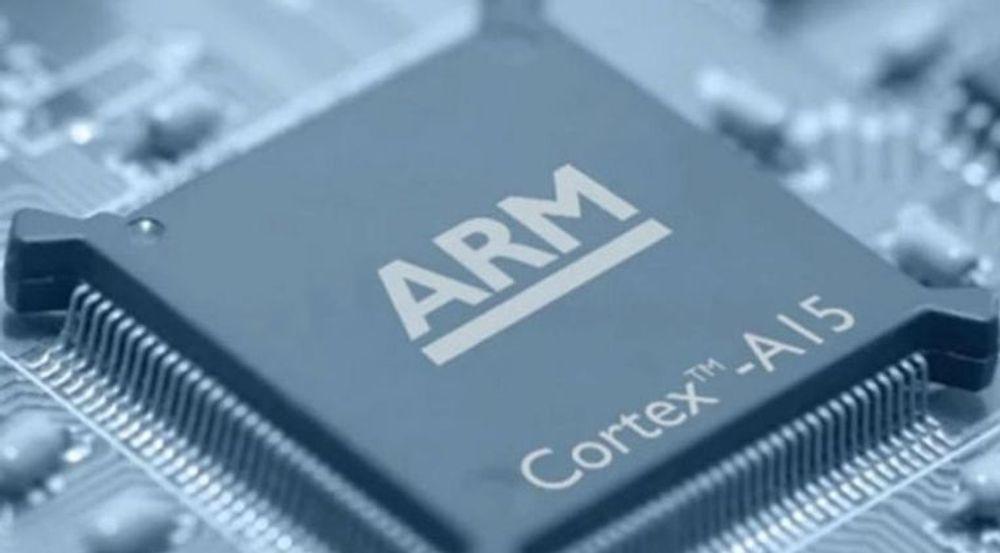 ARM er blant IT-stjernene som opplever kursfall.