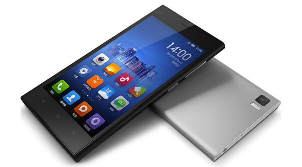 Xiaomis toppmodell, MI-3, var verdens tiende mest solgte smartmobil i februar.