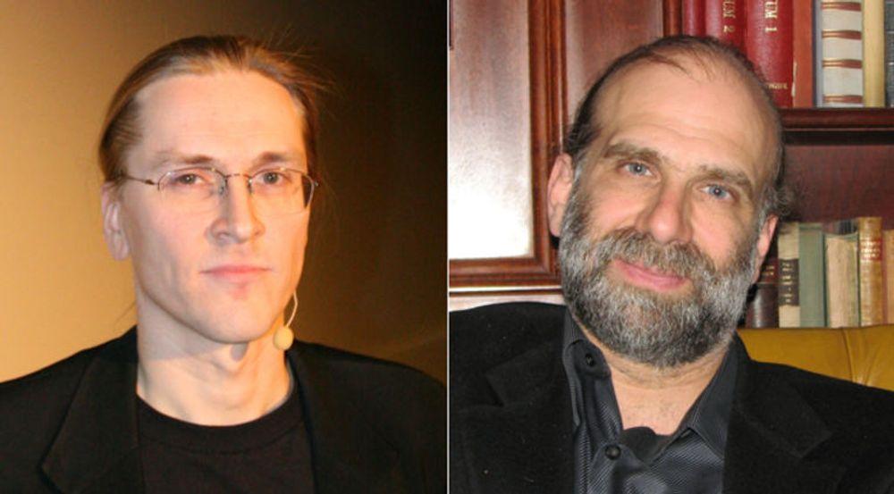 Mikko Hyppönen og Bruce Schneier er blant dem som oppfordrer til å boikotte åretes RSA-konferanse.