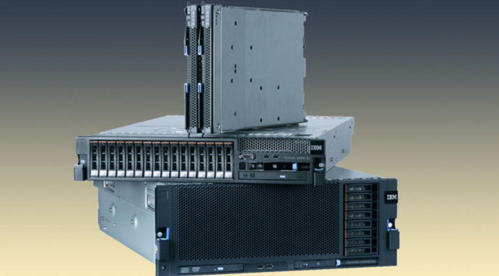 IBM har et allsidig utvalg av x86-servere, men taper markedsandeler.