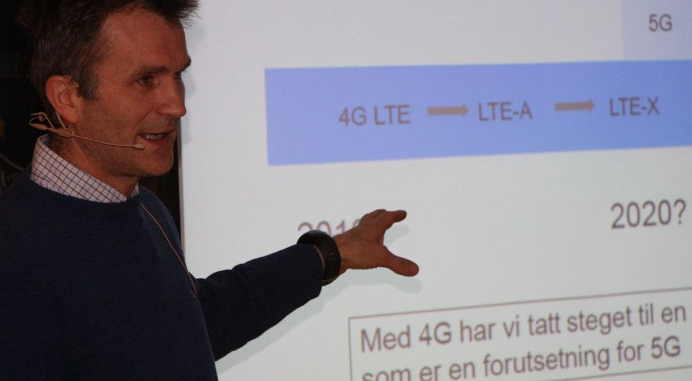 Teknisk arkitekt Petter Aglen hos Telenor Norge mener såkalt smart bruk av mobile bredbåndsressurser er realistisk.