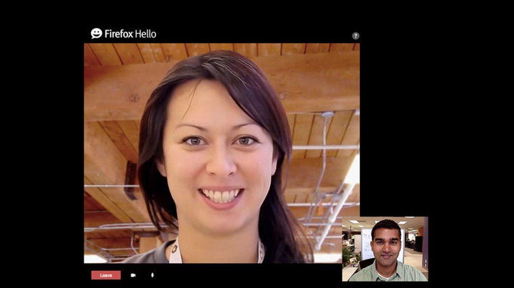 Videochaten i Firefox er nå mer fleksibel, og det loves ytterligere forbedringer.