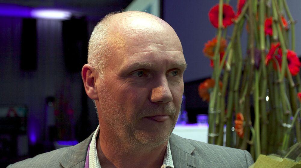 Apple er vriene, de deler ikke kake med andre, sier Lars Sandtorv, som sikter mot 15 millioner kunder på den norske NFC-løsningen bare i Nord-Amerika.