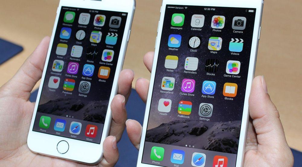 iPhone 6-modellene bidrar til at Apple tar markedsandeler.