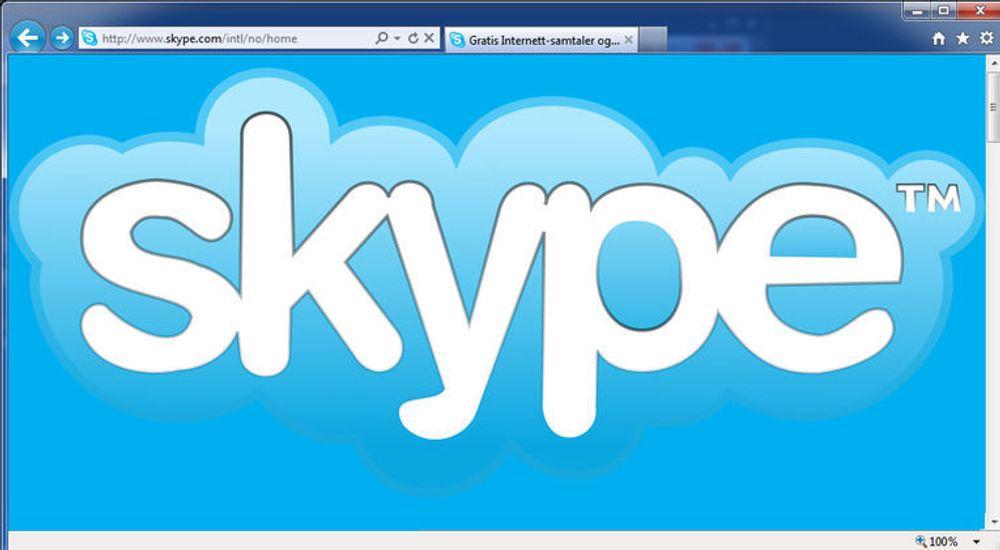 Skype i nettleseren er ikke noe nytt. Men det avhenger at en plugin er installert.