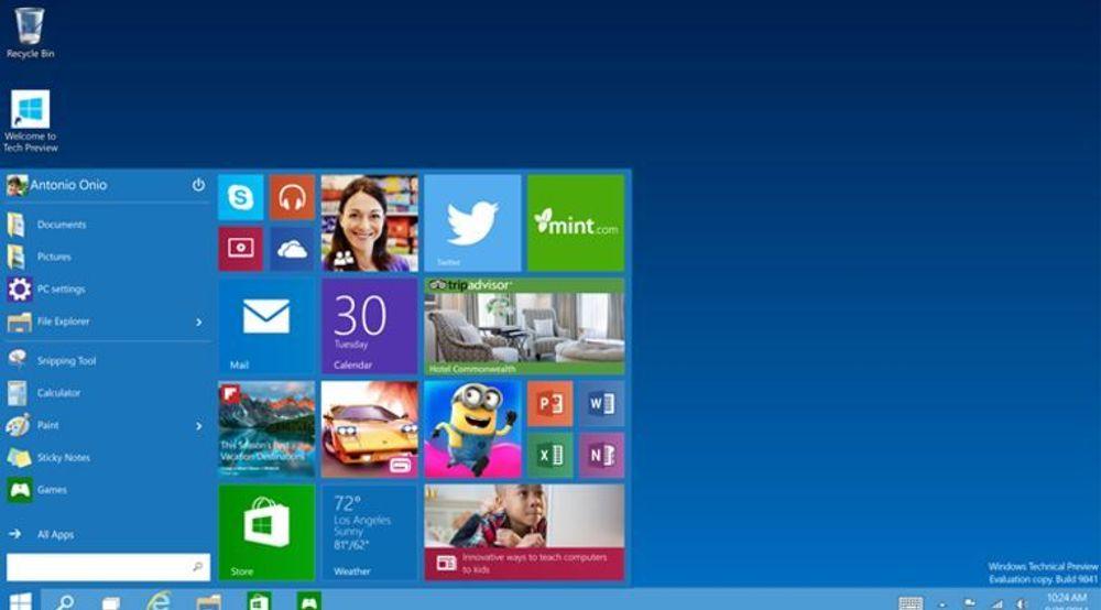 Windows 10 kommer med en rekke forbedringer på sikkerhetssiden, blant annet forenklet støtte for innlogging med to autentiseringsfaktorer.
