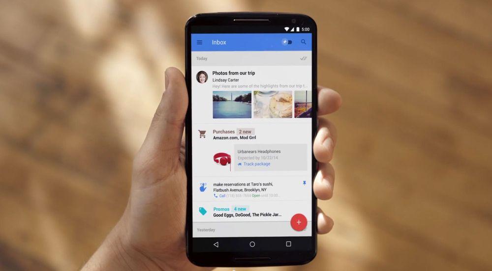 Google Inbox-appen skal presentere e-post på en helt ny måte. Gmail-teamet skal ha brukt flere år på å utvikle konseptet. Men appen kommer som et alternativ, ikke en erstatning, til dagens Gmail-app.