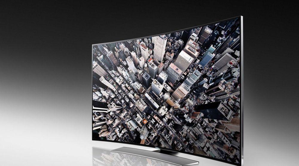 Samsung håper krumme tv-er skal skape liv i et fallende globalt tv-marked.