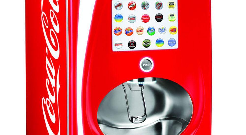 En stadig større del av Internett-trafikken vil kommer fra maskiner som kommuniserer med hverandre. Avanserte salgsautomater som Coca-Cola Freestyle er blant disse.