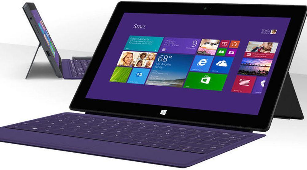 Surface Pro 2 blir nå levert med oppgradert prosessor, ifølge amerikanske medier. Det gis imidlertid ingen garantier eller tegn på hvilken prosessor som maskinen du kjøper faktisk er utstyrt med.