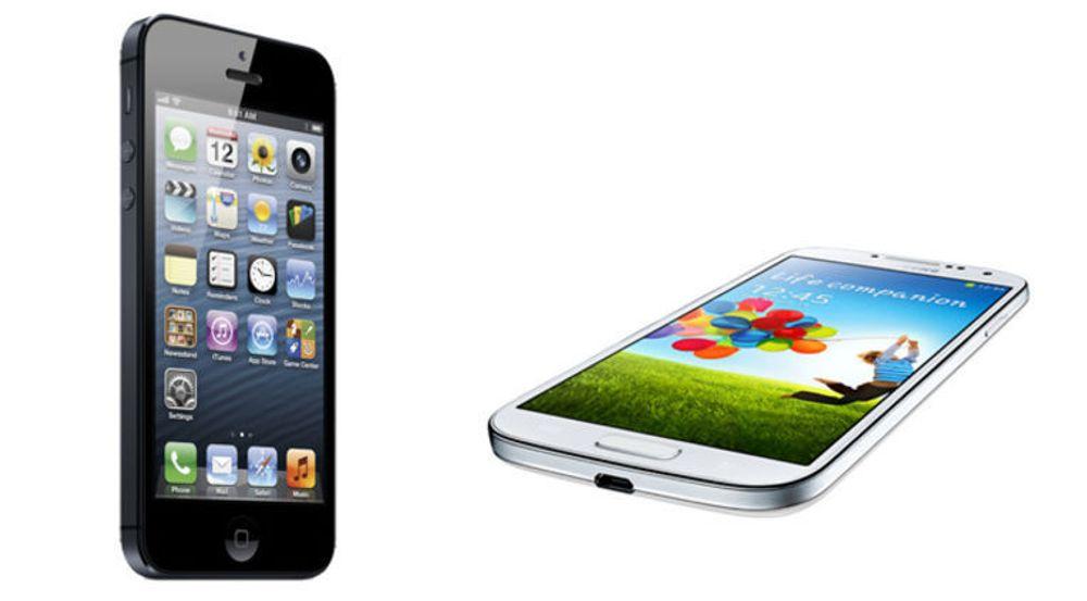 Apple og Samsung nesten alene på topp