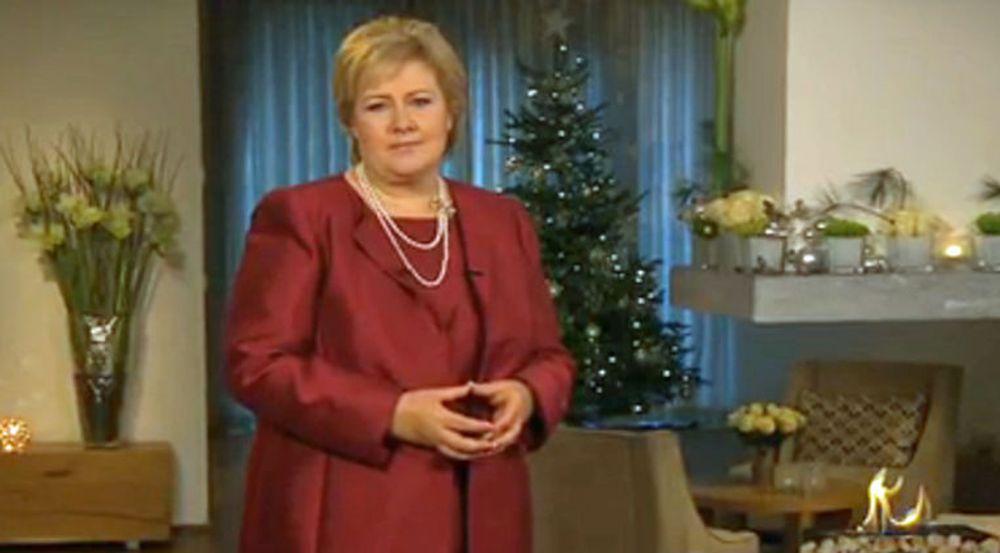 Statsminister Erna Solberg har rett når hun sier kunnskap – og ikke IKT – er «fremtidens olje», skriver Arild Haraldsen. Bildet er fra nyttårstalen.