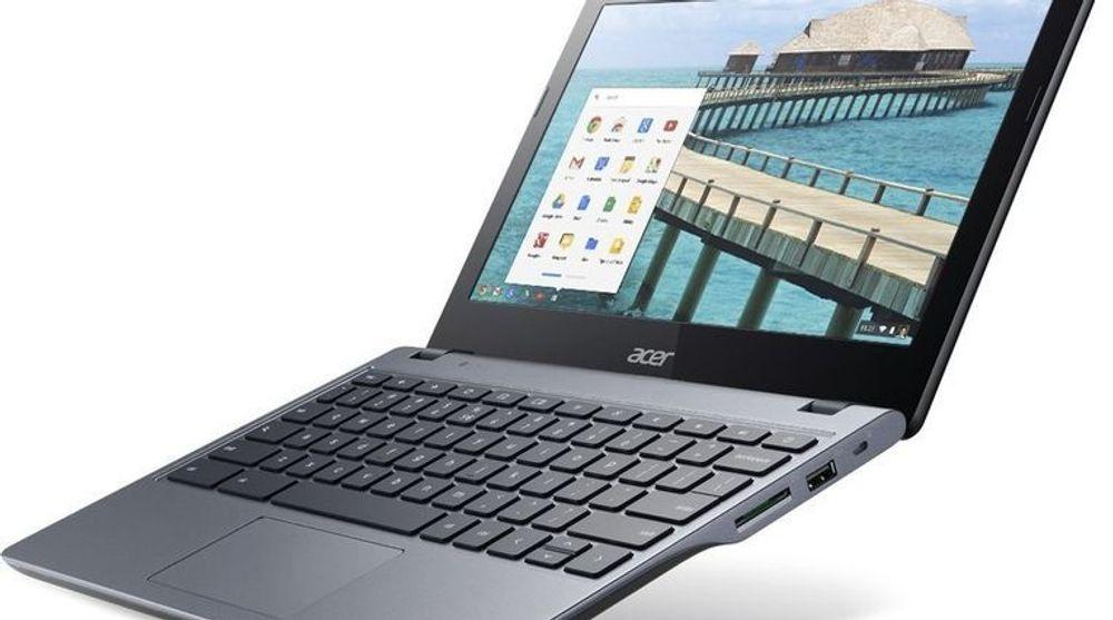 Intel-baserte Acer C720 Chromebook topper nå listen over de mest solgte, bærbare pc-ene hos Amazon.com. I USA koster den enkleste utgaven av maskinen koster 199 dollar, inkludert frakt. Nesten alle de store pc-leverandørene satser nå på slike svært billige datamaskiner med Chrome OS, som tilsynelatende også har blitt godt mottatt i bedriftsmarkedet.
