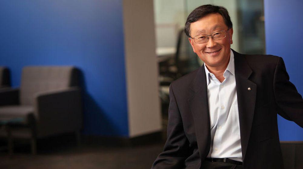 Toppsjef John Chen i Blackberry har en plan som investorene ser ut til å tro på.
