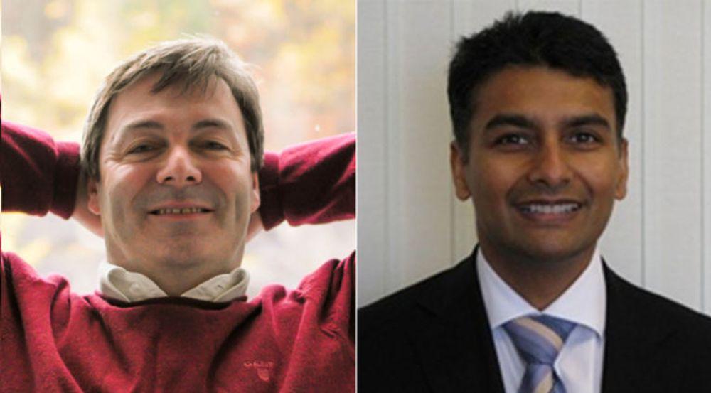 Idex, her representert ved lederne Ralph Bernstein og Hemant Mardia, arbeider for å kunne levere fingeravtrykkslesere til Apples konkurrenter.