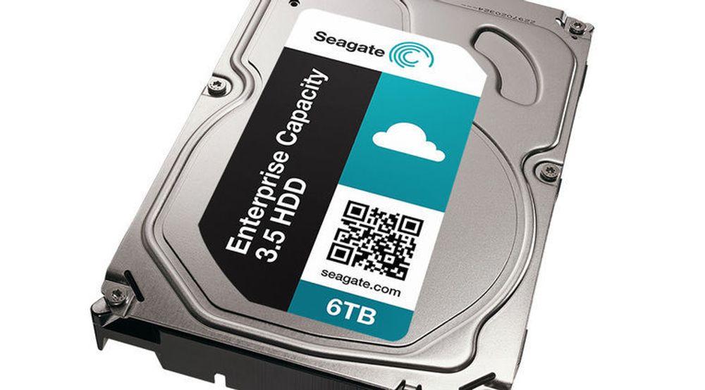 Seagate har foreløpig ikke kommet med noe bilde av den nye harddisken, men trolig vil den se omtrent ut som denne utgaven, som har 6 terabyte lagringskapasitet.