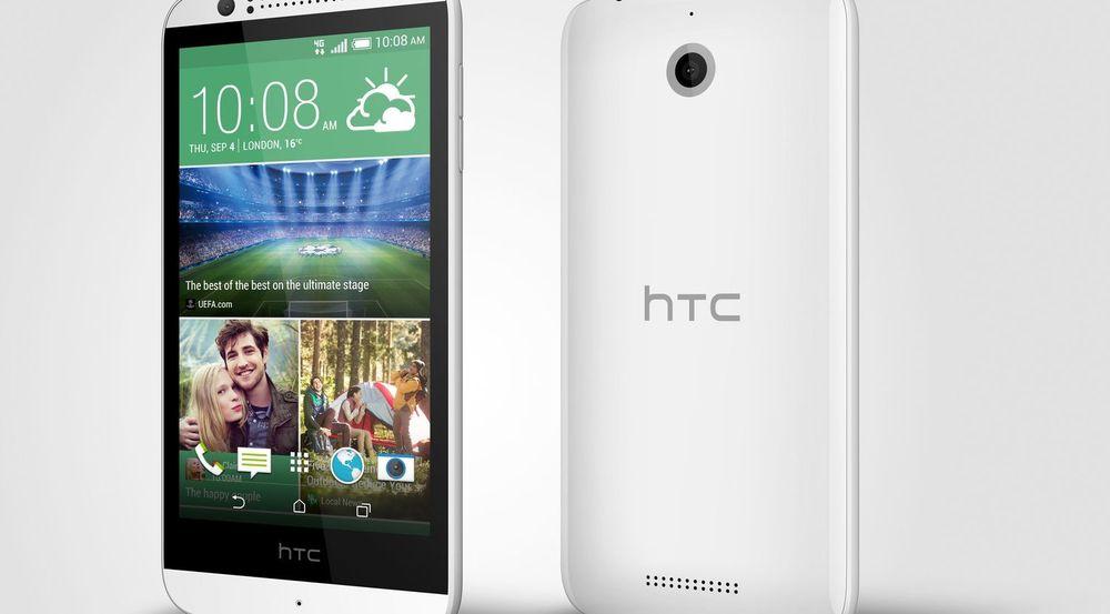 HTC Desire 510 er trolig den første Android-baserte smartmobilen med 64-bits prosessor.