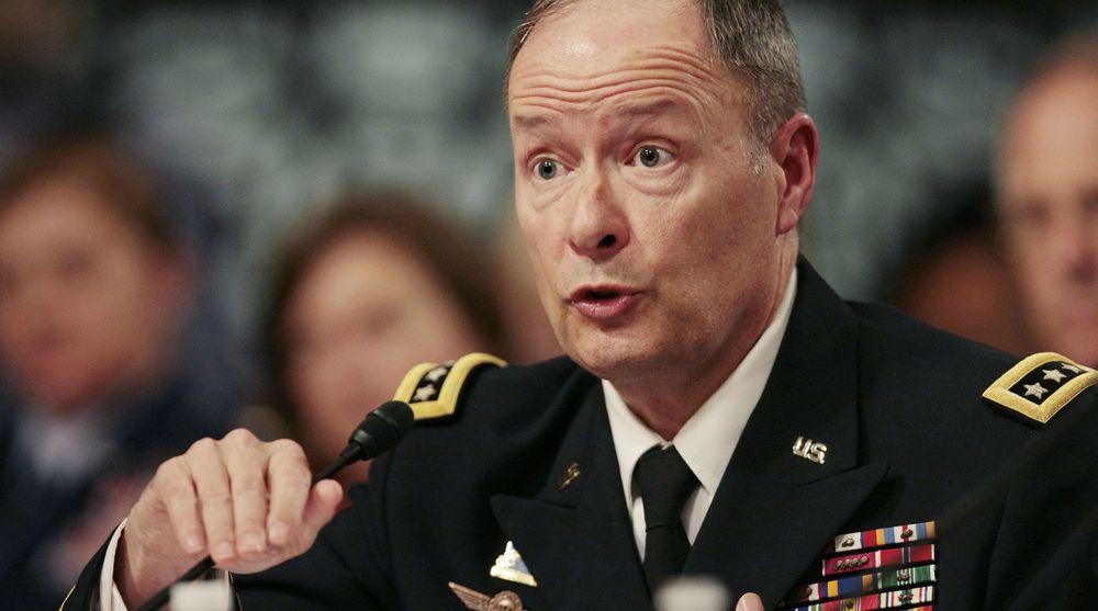 General Keith Alexander skal være hjernen bak ICREACH.