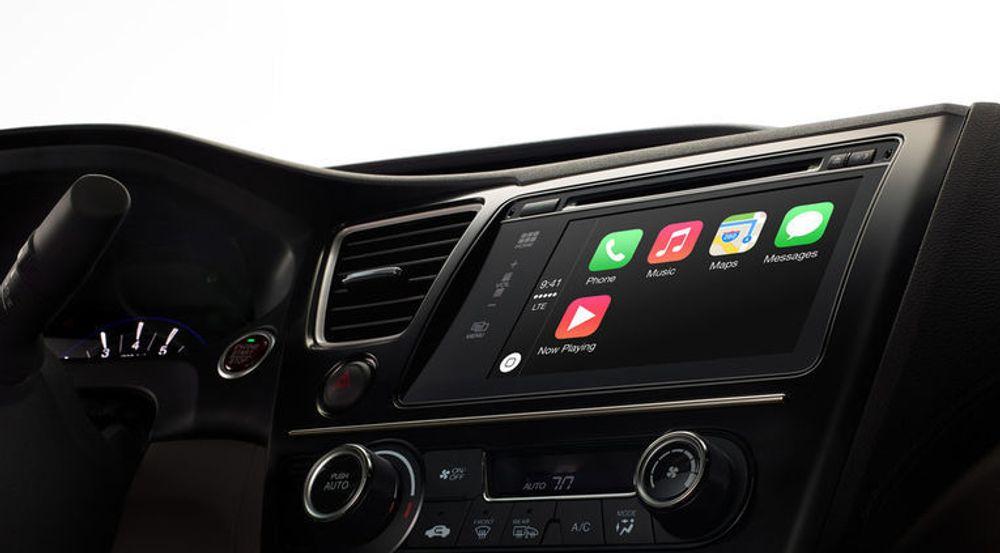 Det ser ut til at CarPlay-utstyrte biler kommer først neste år, kanskje med unntak av Hyundai-modeller.