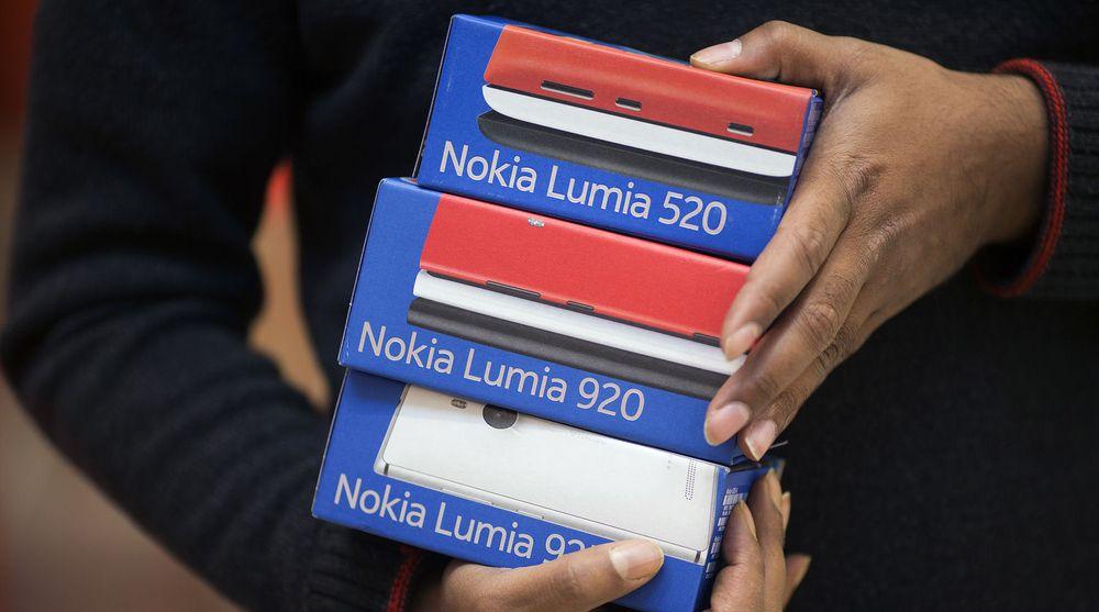 Nokia selger stadig flere Windows Phone-telefoner, men fortsatt velger 24 av 25 smartmobilkunder noe annet enn Microsofts plattform.