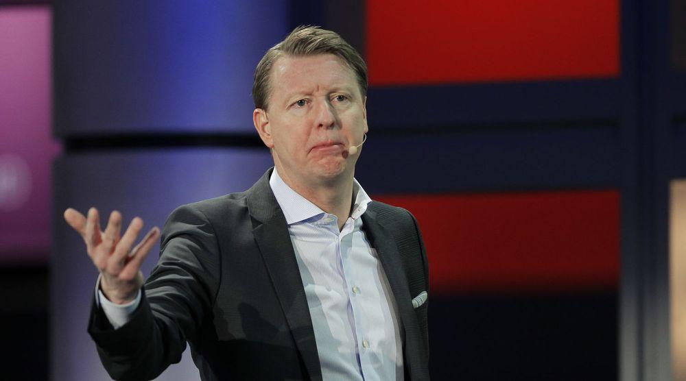 Ericsson-sjef Hans Vestberg tar sikte på å være på banen når Kina bytter ut 4G/LTE.