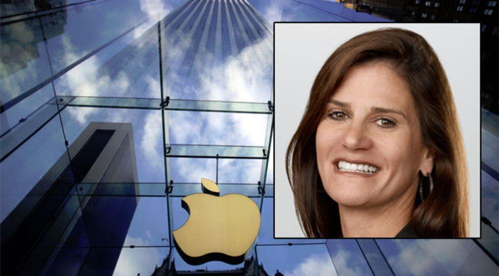 Katie Cotton (innfelt) var kvinnen som bygget opp mye av mystikken rundt Apple. Nå takker PR-guruen av etter 18 år i selskapet.