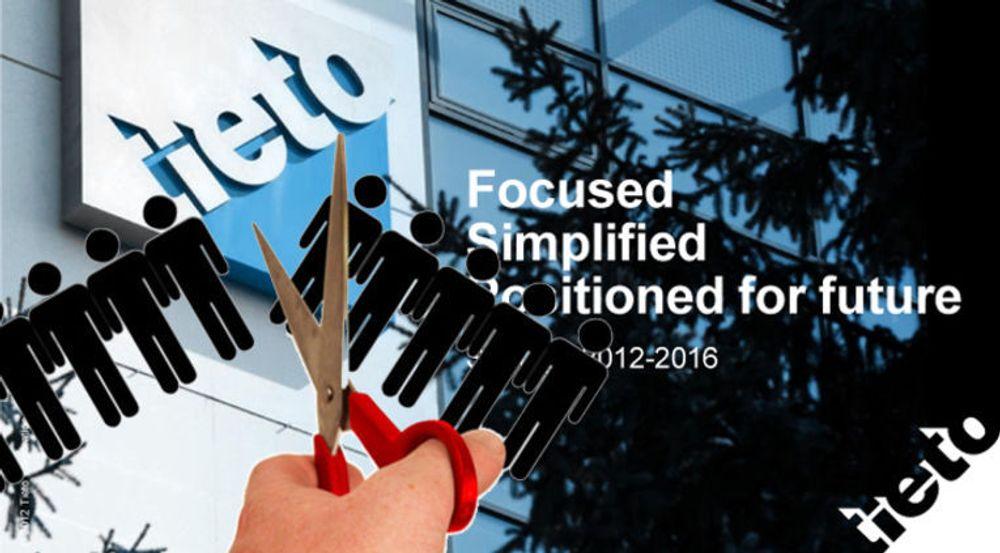 Tieto varsler nye masseoppsigelser, denne gangen forsvinner anslagsvis 180 stillinger innen forretningsområdet produktutviklingstjenester.