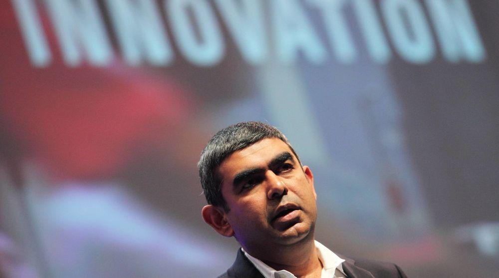 Børsen reagerte negativt på at teknologisjef Vishal Sikka slutter i SAP.