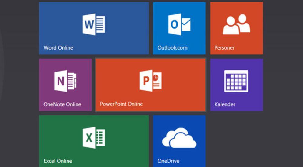 Office Online og OneDrive bekrefter Microsofts hengivenhet til nettjenester. Skjermdumpen er hentet fra en Windows 7-pc med Chrome som standard nettleser. Grensesnittet er gjenkjennelig.