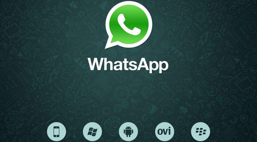 Facebook mener at WhatsApps 450 millioner brukere og vekstpotensial er verdt omtrent 115 milliarder kroner. Tjenestens app er tilgjengelig for alle de største smartmobilplattformene.