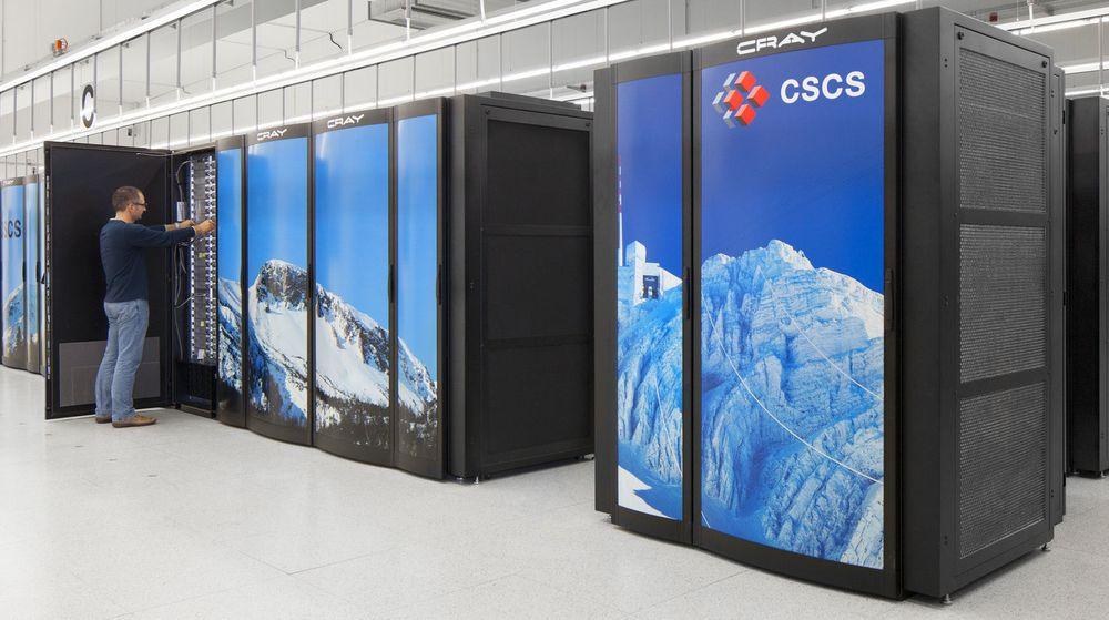 Cray er leverandøren bak Europas kraftigste superdatamaskin, Piz Daint i det nasjonale tungregnesenteret CSCS i Sveits.