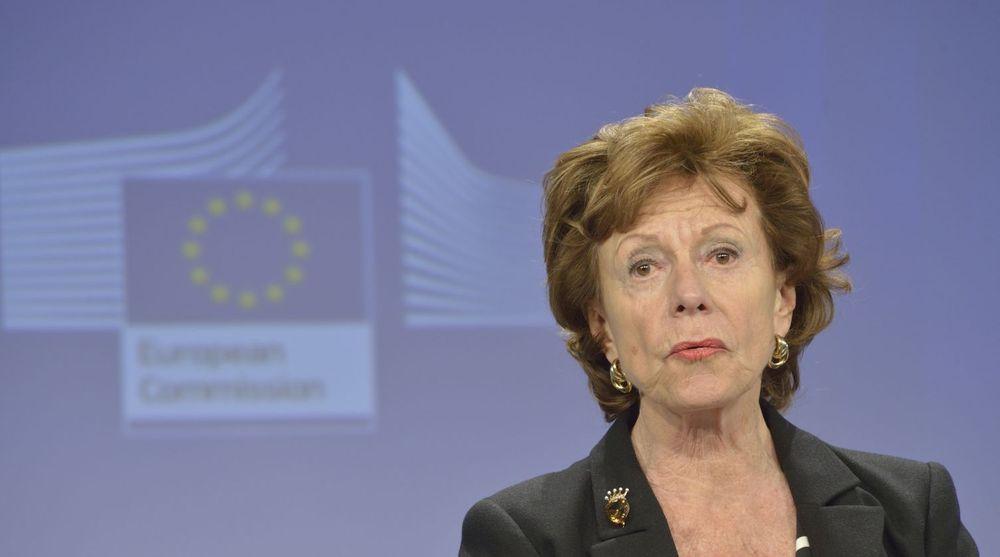 EU-kommissær Neelie Kroes har i store deler av sin periode jobbet for lavere telepriser på tvers av EU-landene. Men hun sier at arbeidet ennå ikke er fullført.