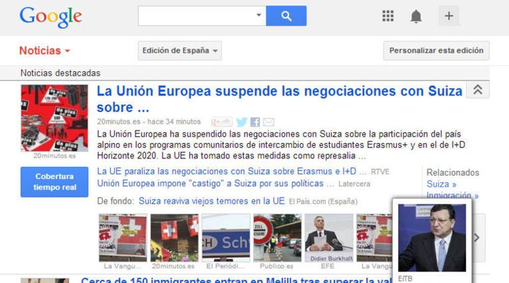 Google News er blant tjeneste som kan bli berørt av det spanske lovforslaget som omtales i saken.