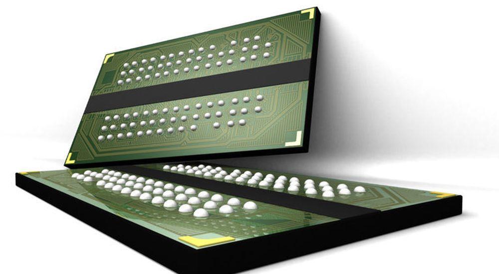 DDR2 SDRAM-brikker fra Micron, en av verdens største minneleverandører.