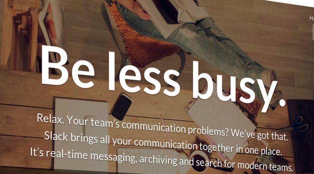 Slack er en samhandlingstjeneste rettet mot bedrifter som også kan integreres med en rekke andre skytjenester.