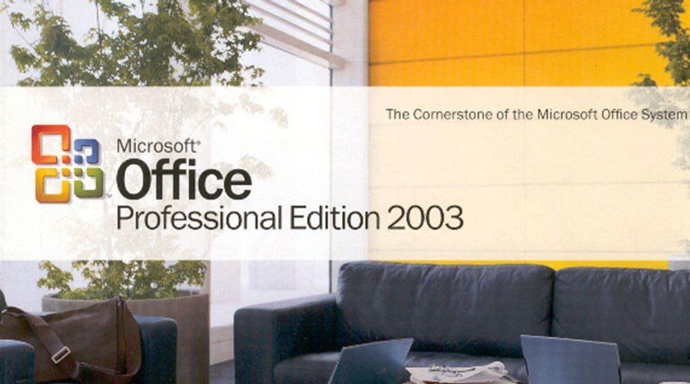 Millioner av mennesker bruker fortsatt Office 2003, som om noen få uker ikke lenger vil bli støttet eller vedlikeholdt av Microsoft.