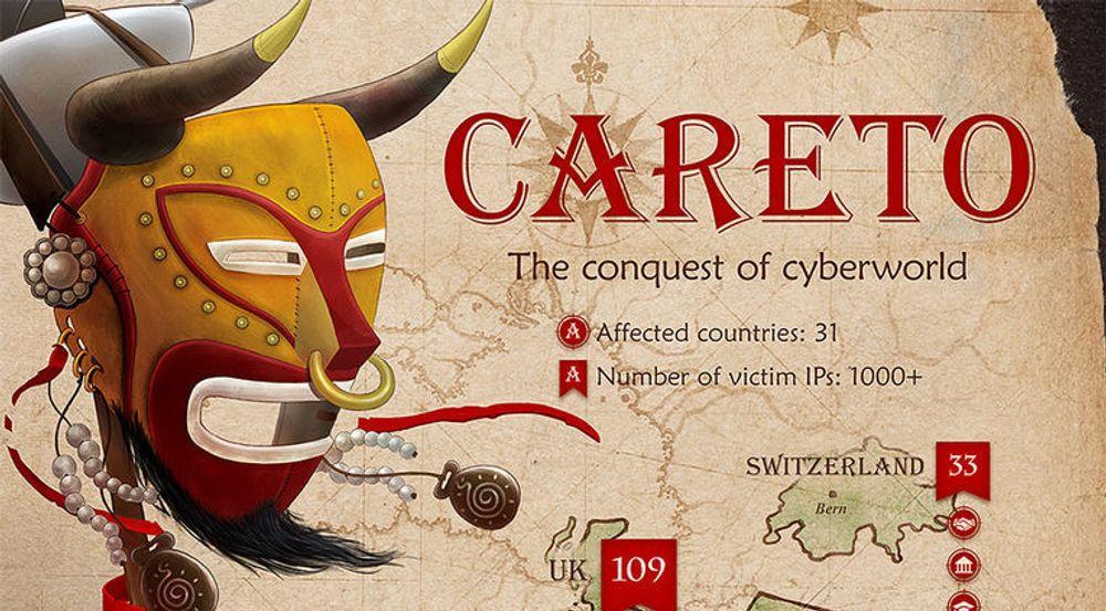 Careto, eller The Mask, er navnet på en omfattende IT-spionasjekampanje som Kaspersky Lab relativt nylig har oppdaget. Men kampanjen har pågått i minst sju år.
