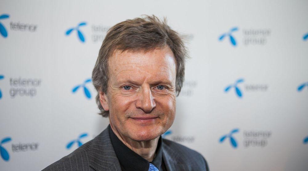 Telenor, med konsernsjef Jon-Fredrik Baksaas i spissen, har inngått en milliardkontrakt med amerikanske Accenture.