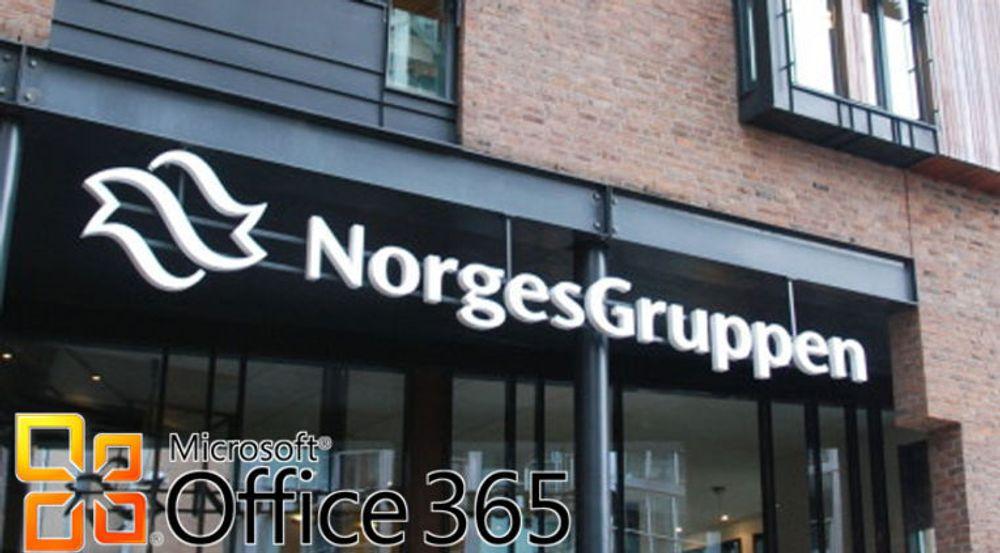 Norges største dagligvarekjede velger Microsofts kontorpakke levert som en tjeneste.