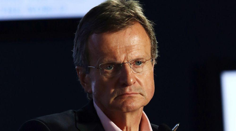 Telenor-sjef Jon Fredrik Baksaas var i Myanmar 6. juni i år på et møte i World Economic Forum.